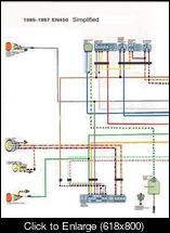 chopped wiring the kawasaki en450 454 ltd forum rh ltd454 proboards com kawasaki 454 ltd wiring diagram 87 Kawasaki 454 LTD