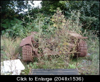 Day 3 Possible Bren Gun Carrier near entrance to C