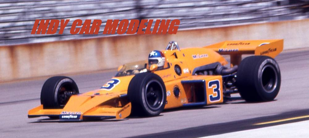 Indy Car Modeling
