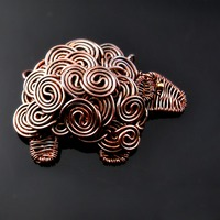 Sheep-Wire-Woven-Copper-Pendant-Cats Wire 1.jpg
