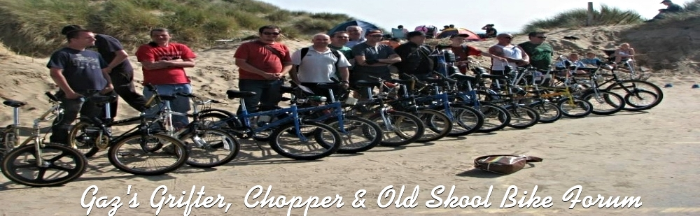Gaz's grifter, chopper & old skool bike forum