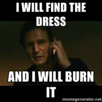 burn the dress meme.png