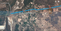 Diakounda Arts Village on Google map.JPG