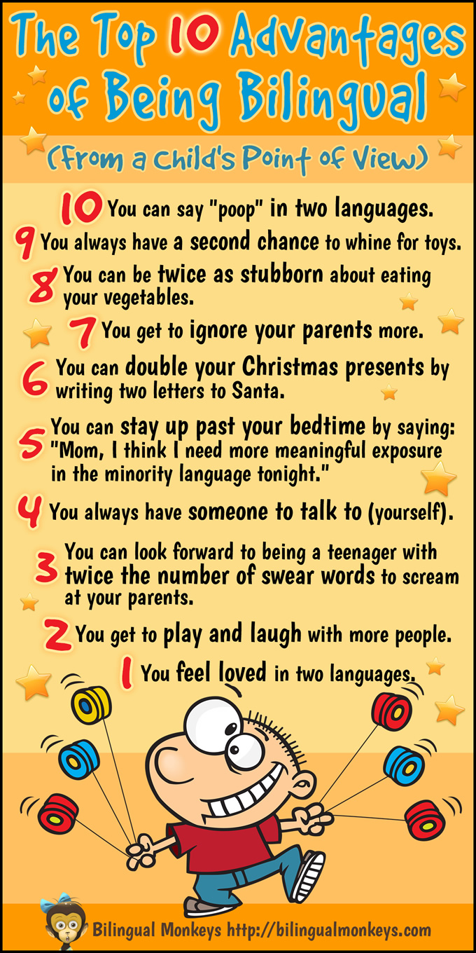 The Top 10 Advantages of Being Bilingual