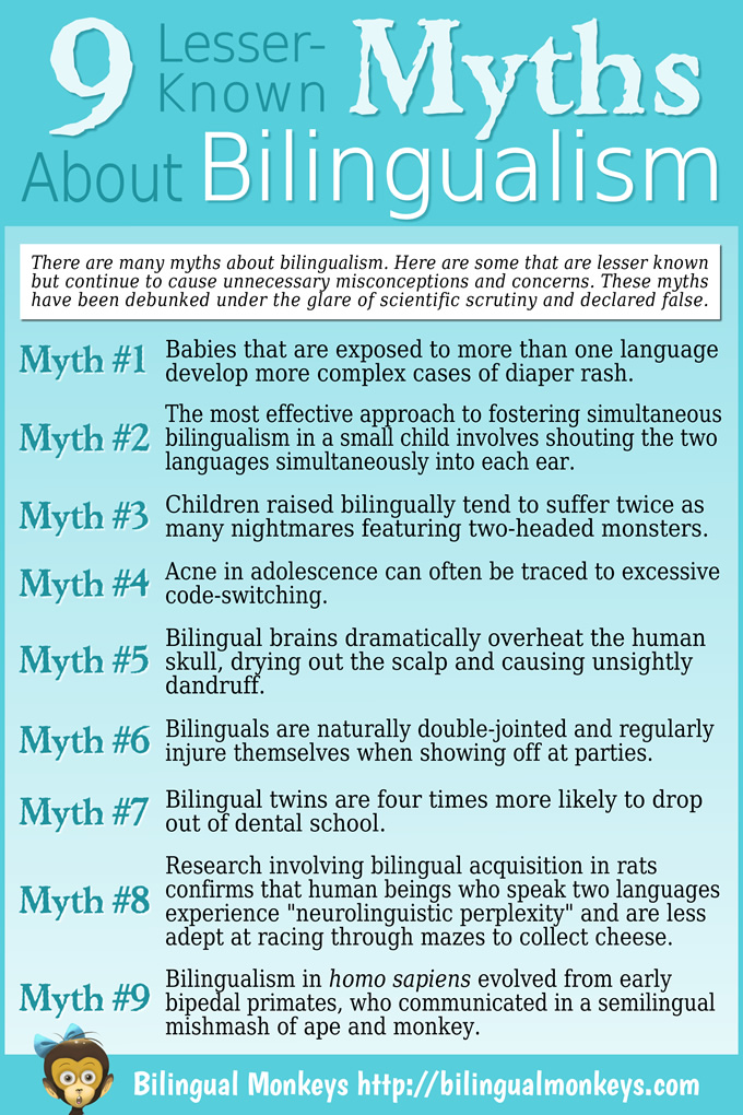 9 Lesser-Known Myths About Bilingualism