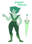 Green Calcite Avatar