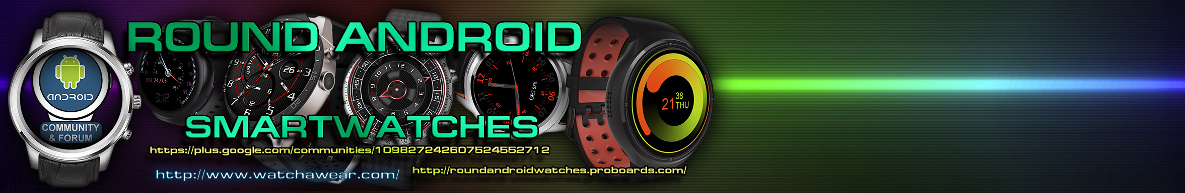 Round Android Smartwatches