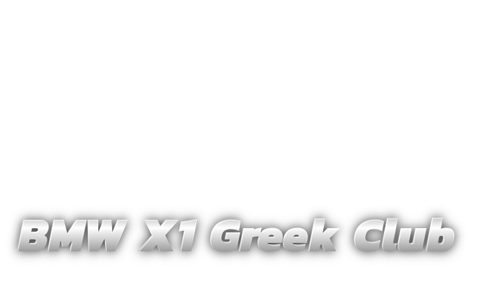 BMW X1 Greek Club
