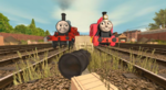 Two Red Engines Avatar
