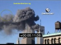 Laser Painting UAV Drone Attack on WTC 9 11....jpg