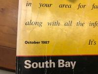 Long Beach Phone Book Oct 1984 1985 1987