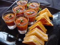 Midnight snack grilled cheese  tomato shooters.jpg