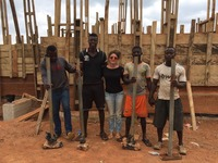 Angeles Hevia With Rammed Earth Building Team.jpg