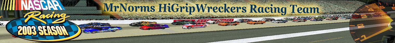 Home | MrNorms HIGRIP RACING, NASCAR Racing 2003 Season PC Gaming Forums
