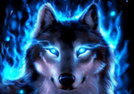 Blue Eyed Wolf Avatar