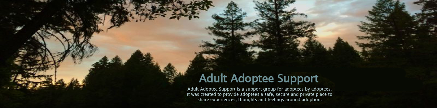 Adult Adoptee Support