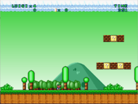 Mario Forever Remake V 3 1   The game is easely hackable :/   Mario