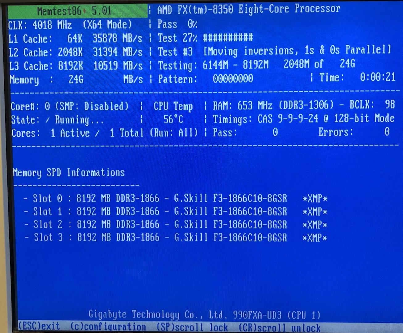 GA-990FXA-UD3 OS not seeing all RAM | GIGABYTE USA Forum