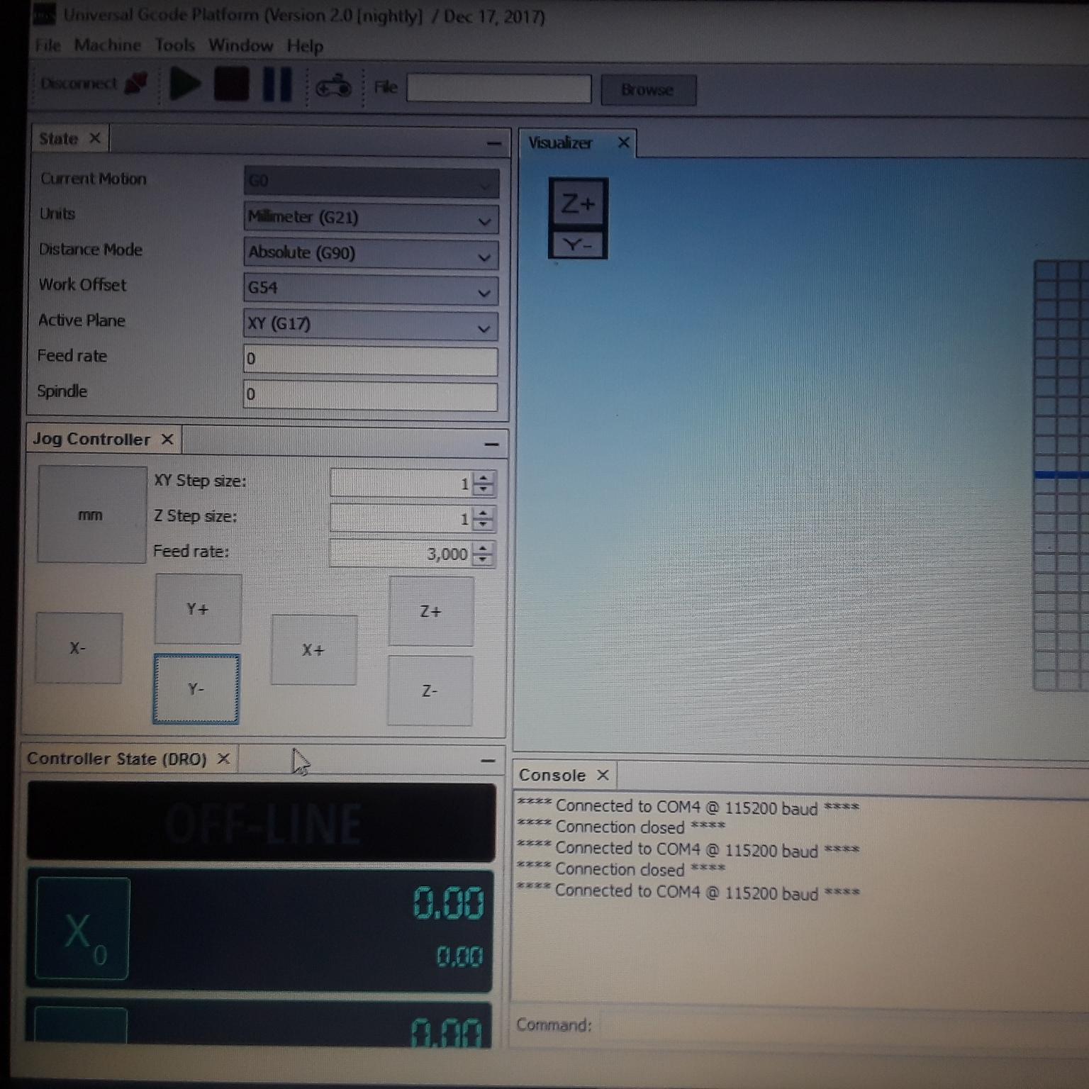Universal g code sender | MillRight CNC