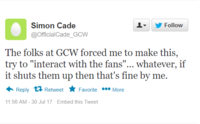 fake twitter post for Simon Cade.png