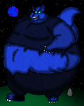 Super Morbidly Obese Werewolf Avatar